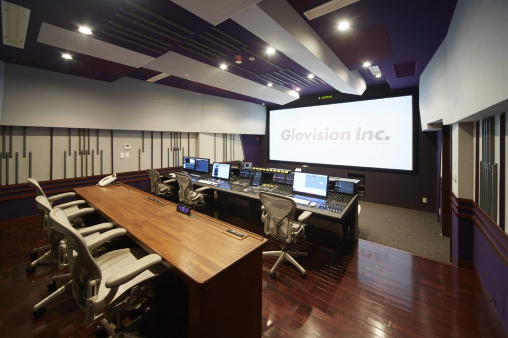 Glovision Studio in Tokyo Upgrades to Atmos with Procella Loudspeakers