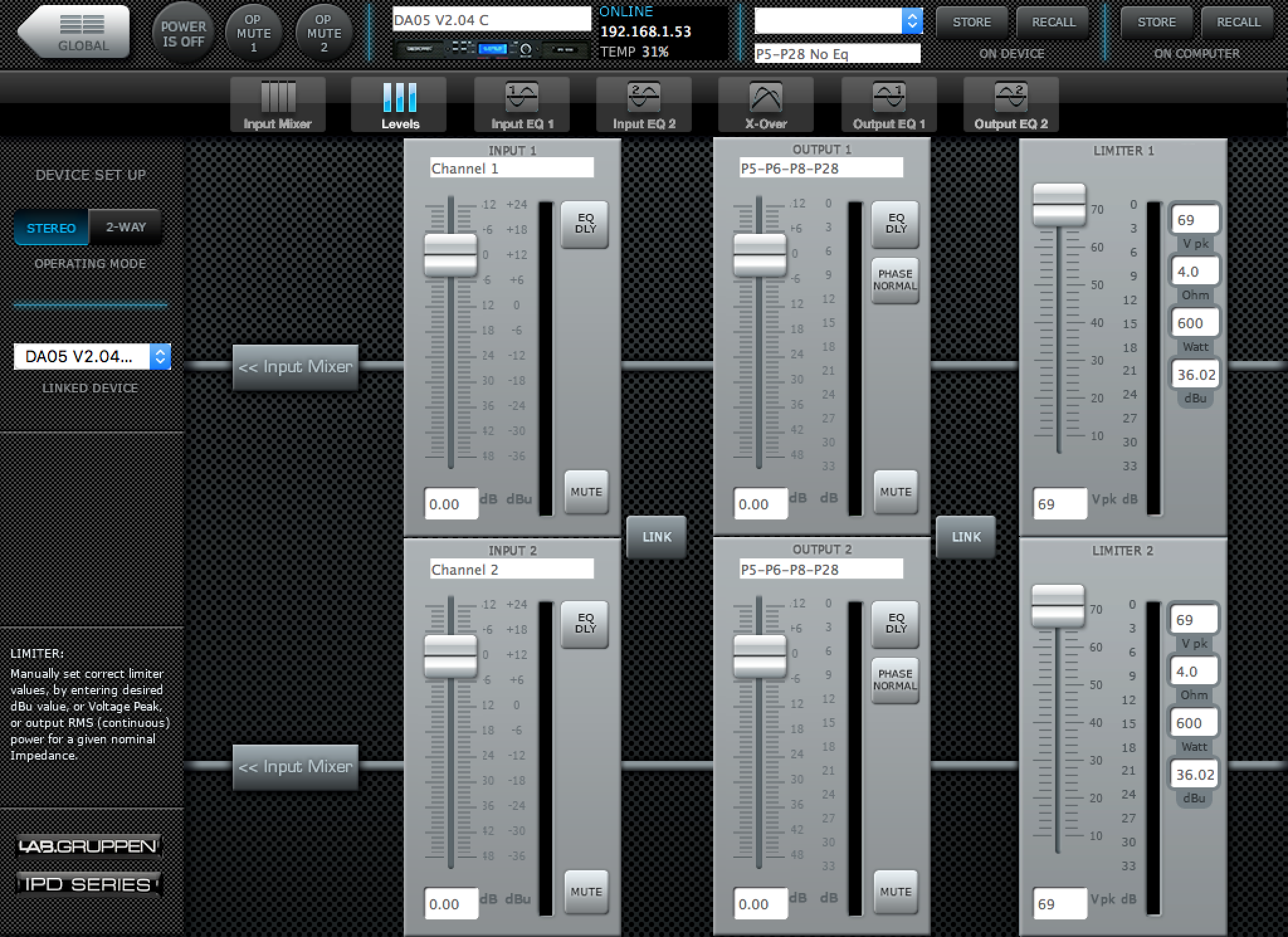 Procella Intellidrive Software Mixer