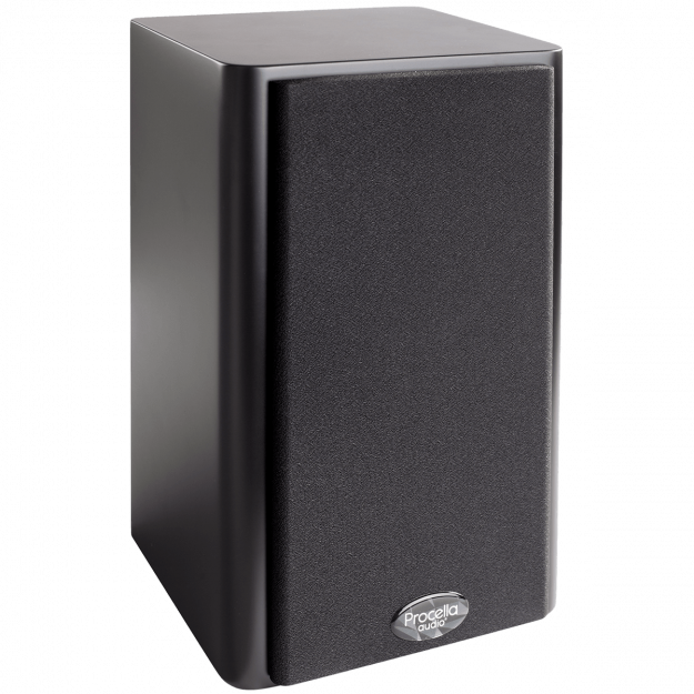 Procella P5 black side view with cover