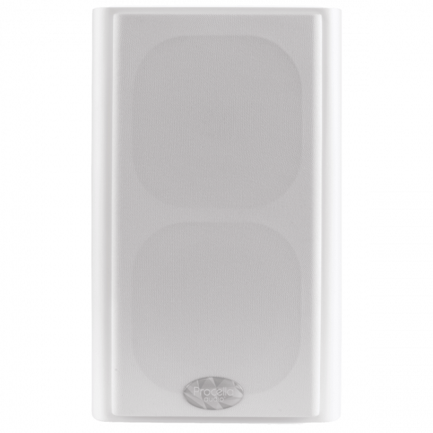 Procella P5 white front view with cover