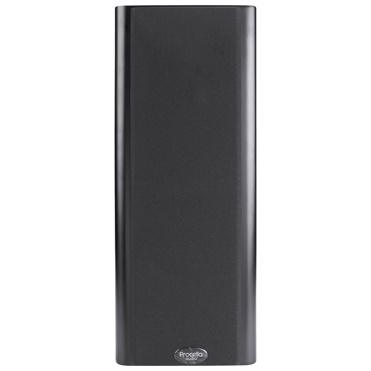 Procella P5V black front view with cover 1200×1200