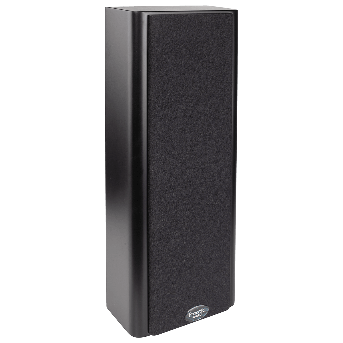 Procella P5V black side view with cover 1200×1200