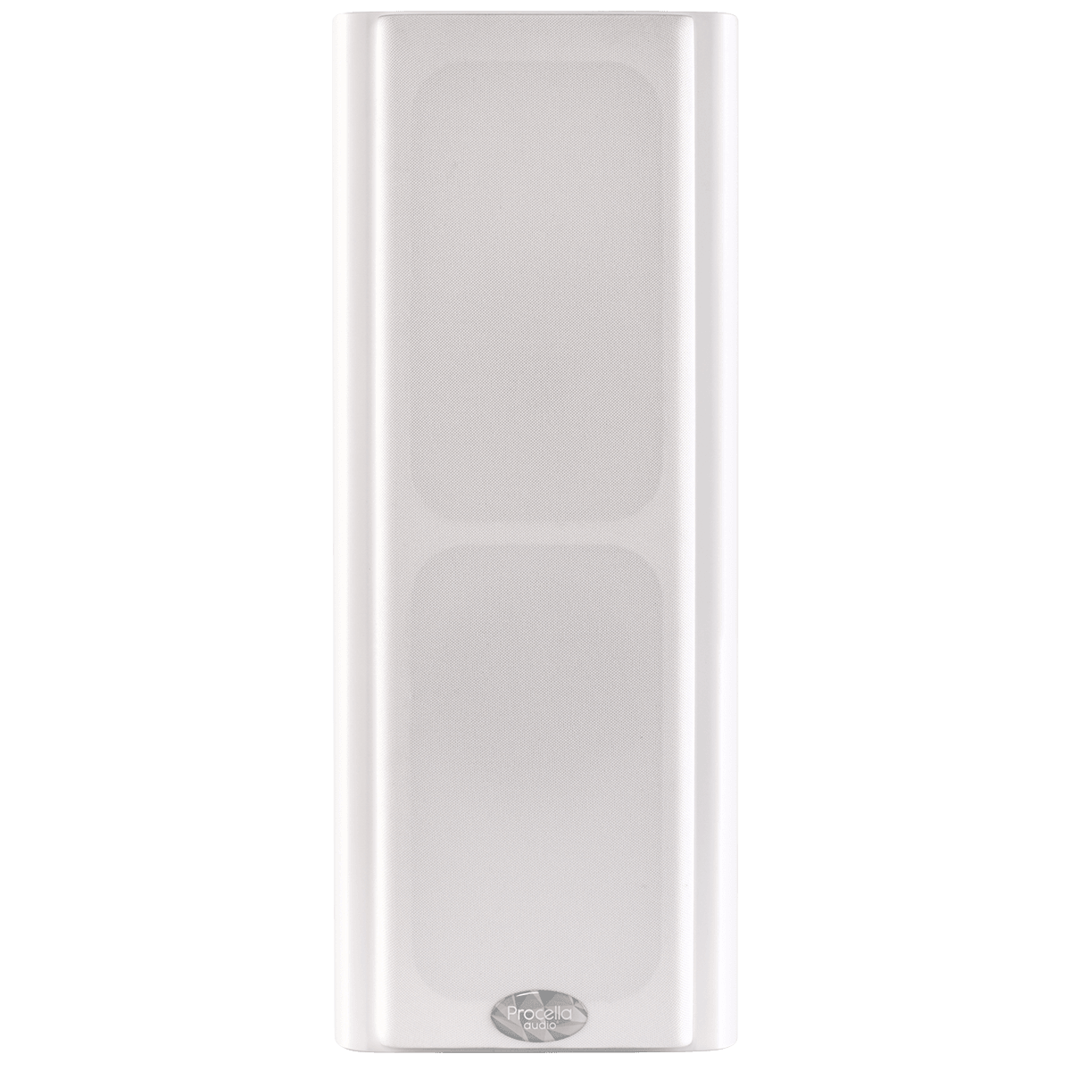 Procella P5V white front view with cover 1200×1200