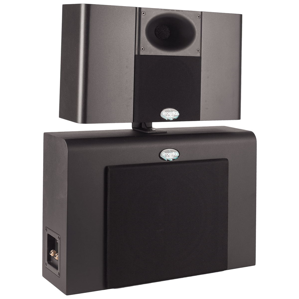 Procella P610 side view with cover 1200×1200