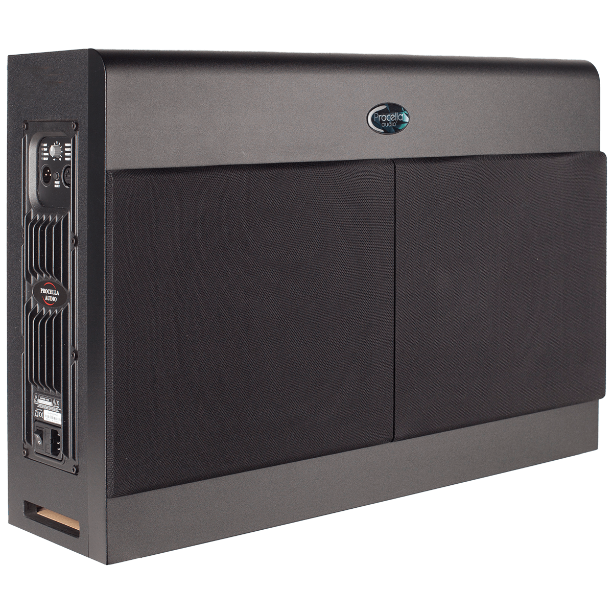 Procella P10AMP side with cover 1200×1200