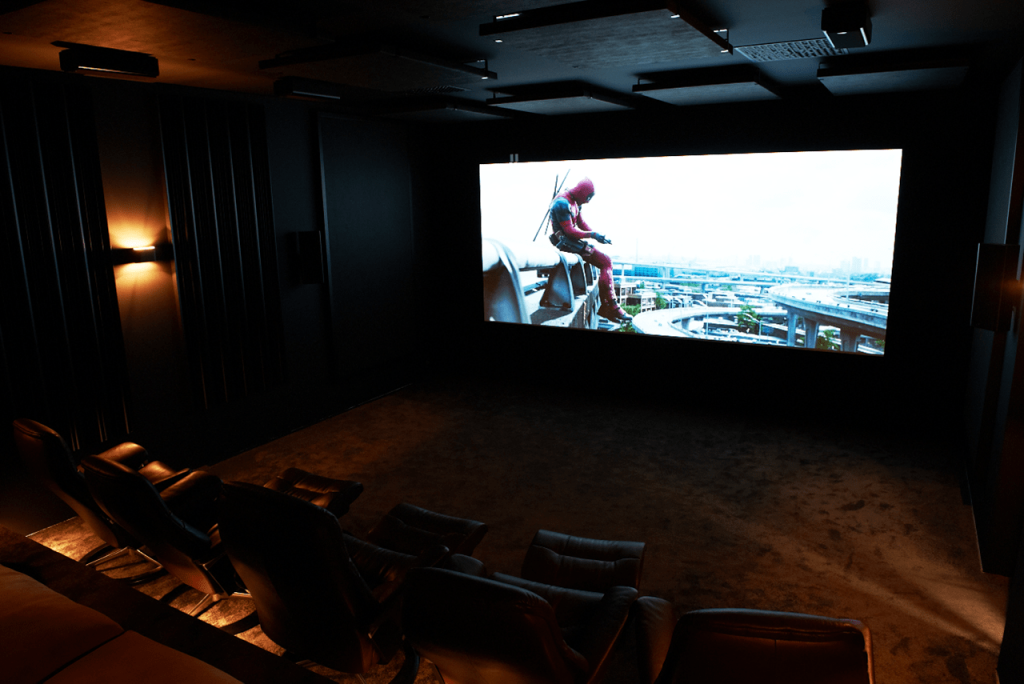 The Rock Dolby Atmos Demo Room