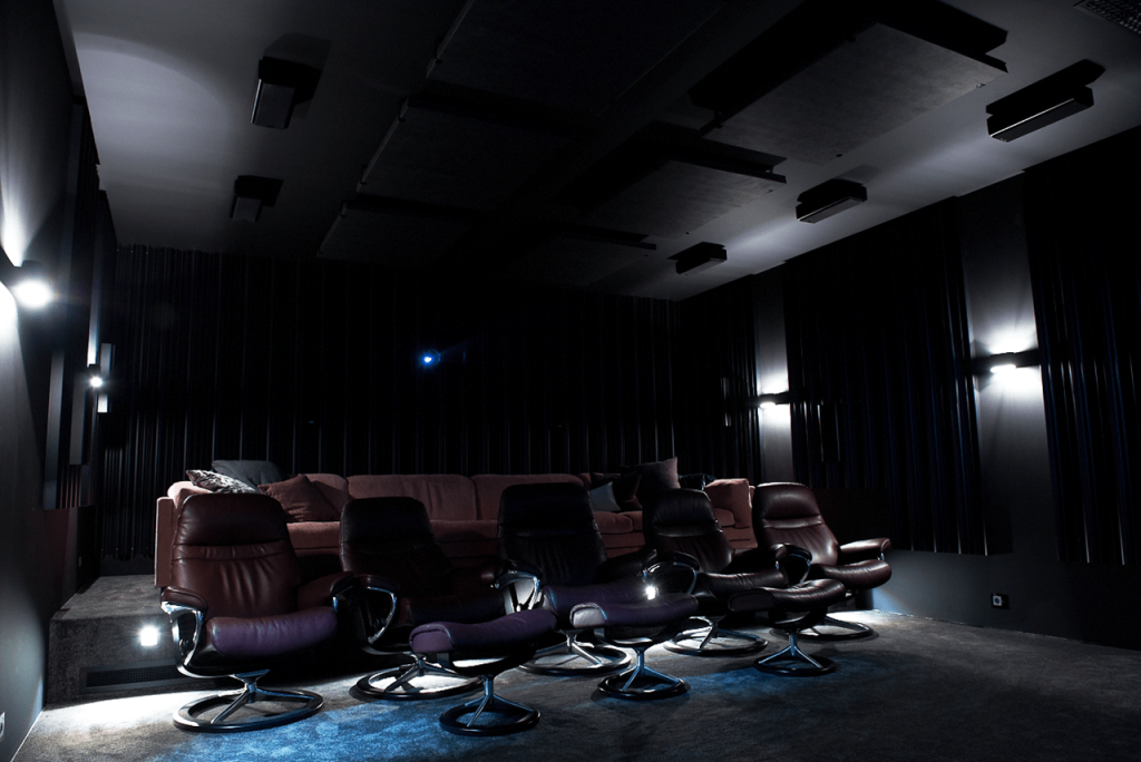 The Rock Dolby Atmos Demo Room Procella Speakers