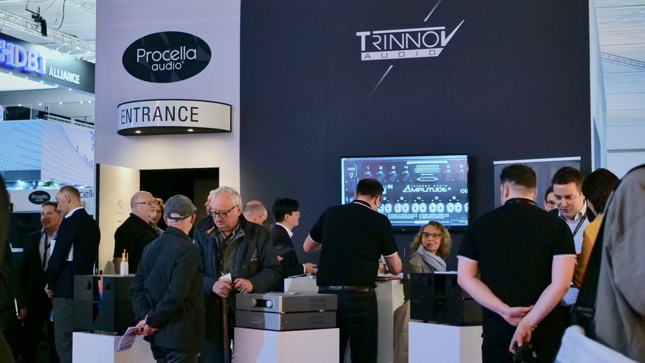 Procella and Trinnov at ISE 2018