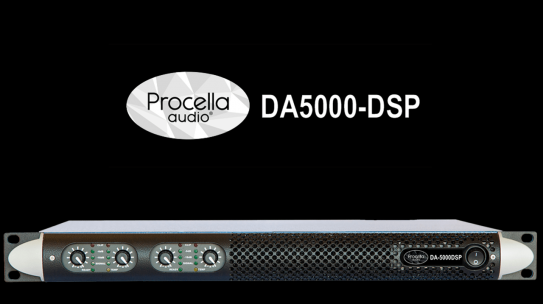 DA5000-DSP new Procella Audio amplifier