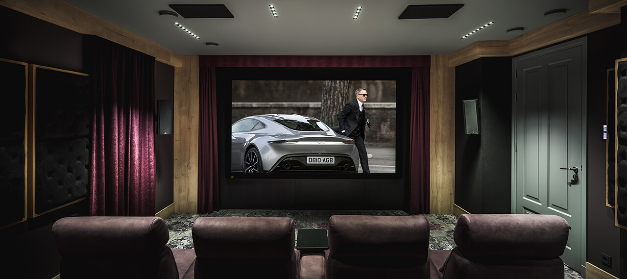 Private Home Theater in the Netherlands