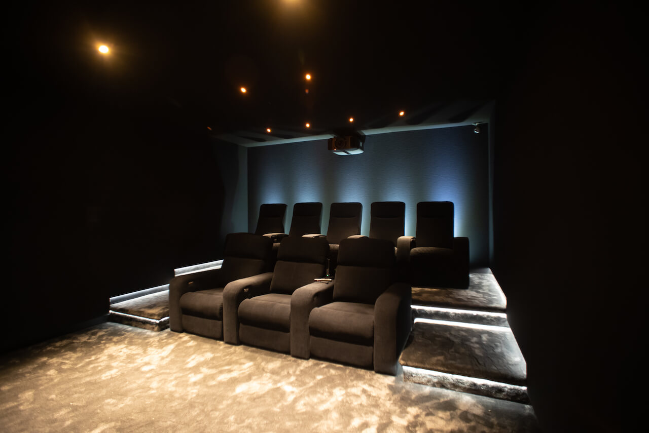 Procella - Invision Reference Home Cinema inside the cinema