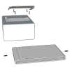 Ceiling mount bracket assembly