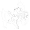 Procella Audio P5/P6 swivel bracket