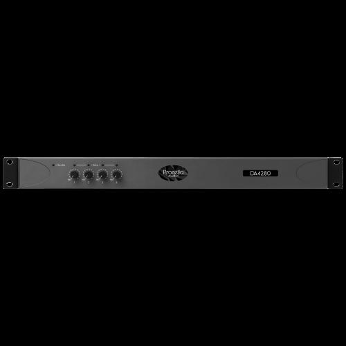 Procella DA4280 4-channel amplifier